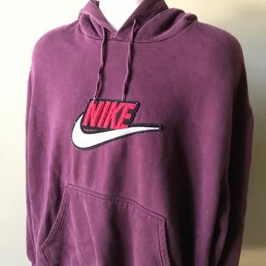 Nike (XL) Embroidered Nike SWOOSH Hoodie Pullover
